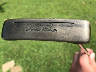 Rare Ping Scottsdale Anser Putter - Gary Player With Autograph 2