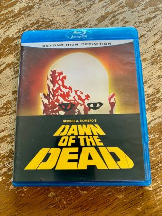 Dawn Of The Dead (blu - Ray Disc,  2007) Rare Oop Out Of Print