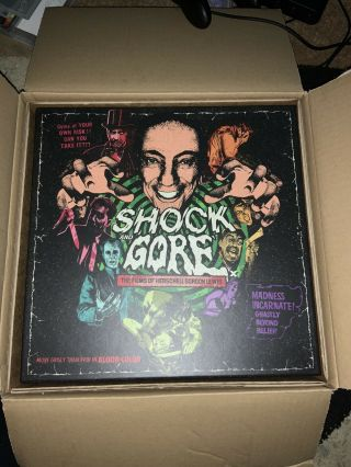 H.  G.  Lewis Shock And Gore Limited Edition Rare Oop,  Arrow Video,  Only 500 Copies