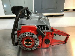 Jonsereds 111S - Rare Vintage Chainsaw Complete,  Runs,  Full Wrap 10