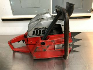 Jonsereds 111S - Rare Vintage Chainsaw Complete,  Runs,  Full Wrap 11