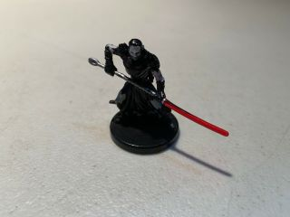 06 Darth Nihl Legacy Of The Force Star Wars Miniatures Very Rare No Card