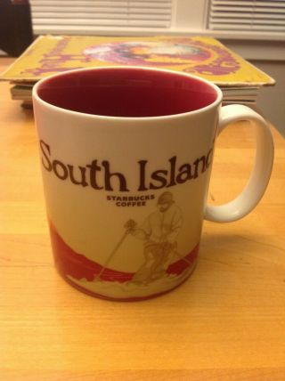 Very Rare South Island Starbucks Collector Series Mug.  Difficult To Find