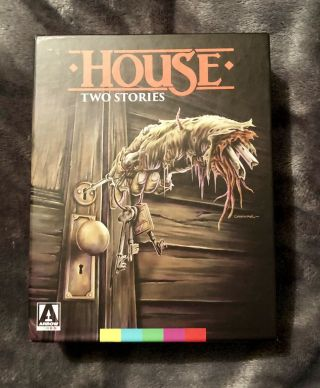 House: Two Stories - Arrow Limited Edition Blu - Ray Box Set - Oop Rare