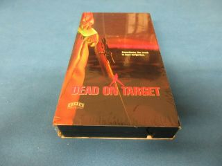 Dead On Target Vhs Movie Ultra Rare 1992 Cvn