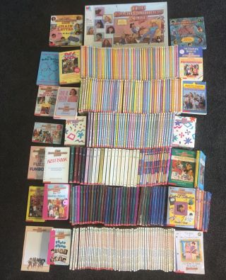 Scholastic The Baby - Sitters Club Complete Set Vintage Out Of Print Rare Books