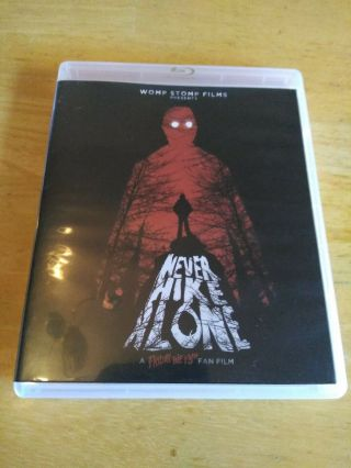 Never Hike Alone Blu - Ray,  Dvd Combo Pack 975/1750 Oop Friday The 13th Rare