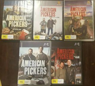 American Pickers Rare Dvd Tv Complete Series Season 1 2 3 4 5 Documentary Show
