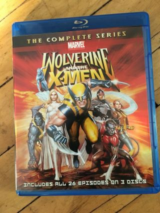 Wolverine And The X - Men The Complete Series Blu - Ray Out Of Print Rare Oop
