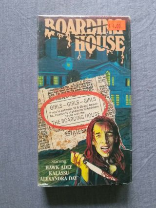 Boarding House Vhs Star Classics Slip Housegeist Rare Sov Not Paragon Big Box
