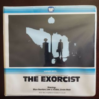 The Exorcist 8 400ft Sound Color Rare