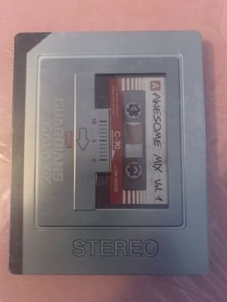 Guardians Of The Galaxy 3d/2d Blu - Ray Steelbook (best Buy Exclusive) Marvel Rare