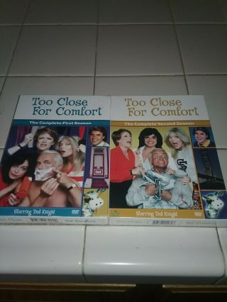 Too Close For Comfort Seasons 1 And 2 One Two Rare