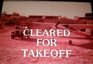 16mm Film: Cleared For Takeoff - 1976 Cessna Airplanes Promotional - Rare