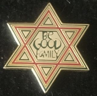 Be Good Family - Star Of David Pin Rare Limited Edition