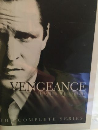 Vengeance Unlimited Rare Complete Tv Series Dvd Michael Madsen