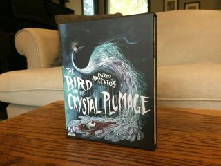 "Rare Like "" Bird With The Crystal Plumage "" Oop Limited Edition Arrow Blu - Ray"