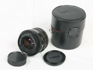 Macro Revuenon Mc 35mm F/2.  8 M42 Lens Rare Model