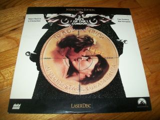 3 Days Of The Condor Laserdisc Ld Widescreen Format Rare