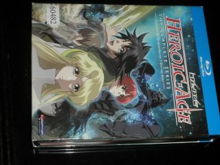 Heroic Age: The Complete Anime Series (blu - Ray Disc,  3 - Disc Very Rare