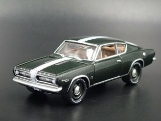 1967 Plymouth Barracuda Fastback Rare 1/64 Scale Collectible Diecast Model Car