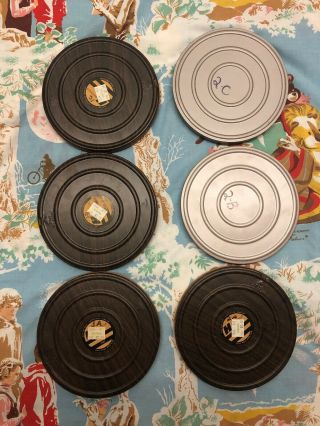 "Star Trek Tos "" The Menagerie "" - 8 Reels - 6 X 400ft 8mm.  Rare Grail."
