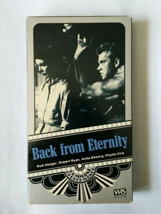 Back From Eternity Vhs Rare Horror Survival Cannibals Vci Command Performance