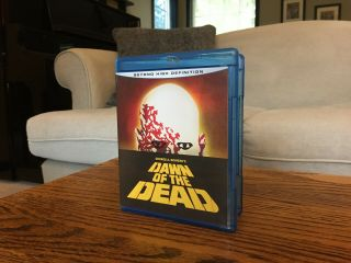 "Rare Like "" Dawn Of The Dead "" (1978) Anchor Bay Horror Blu - Ray"