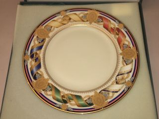Rare Lenox White House China Plate Millenium Pattern Limited Edition 2000