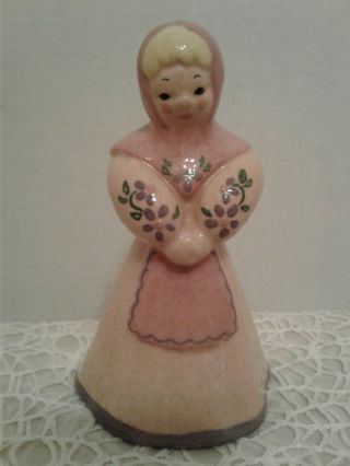 Rare Vintage Kay Finch California Lady Figurine W/ Hand Painted Accents