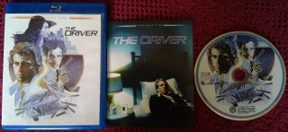 The Driver Limited Edition Blu - Ray Disc Oop Rare 2013 Twilight Time Ryan O