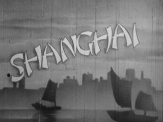 Extremely Rare 16mm Film 1940s Shanghai China W/ Homeless Refugees Movie