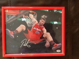 Blake Griffin Signed Autographed 11x14 Slam Dunk Champion Photo.  Psa Dna.  Rare