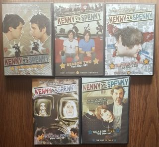 /414\ Kenny Vs Spenny Complete Seasons 1,  2,  3,  4 & 5 Dvds Rare & Oop W/ Inserts