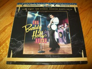 The Buddy Holly Story Laserdisc Ld Widescreen Format Rare