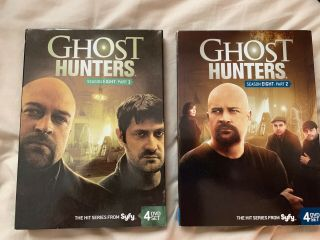 Ghost Hunters: Season Eight (8) : Part 1 & 2 Very Rare 8 Disc Set Vg W Slipcovers