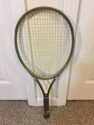 Rare Prince Cts Lightning 110 Tennis Racket Grip 4 1/4 Powerful 16 By 19 String