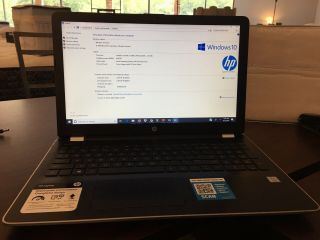 Hp Touch Screen Laptop - Intel I5,  15.  6 Screen,  Rarely,