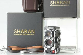 【rare Unused】sharan Rolleiflex 2.  8f Model W/original Box And Case From Megahouse
