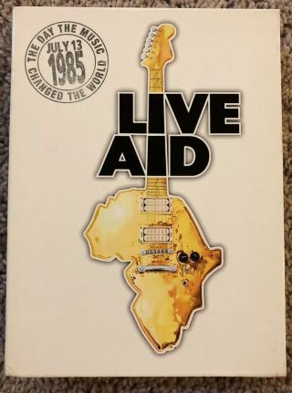 Live Aid (dvd,  2004,  4 - Disc Set) Very Rare Oop