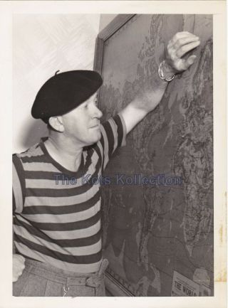 Stan Laurel - Laurel & Hardy/candid Photo - 1939 - Rare