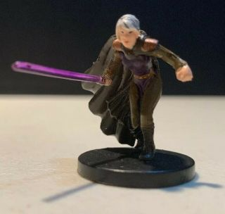 13 The Dark Woman Jedi Academy Star Wars Miniatures Very Rare No Card