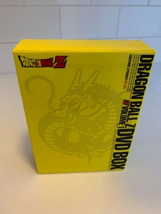 DRAGONBALL Z DRAGON BOX VOLUME 1 RARE OOP R4 DVD 3