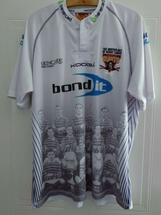 Rare Huddersfield Giants Kooga Rugby League Shirt Top Jersey Mens Xl