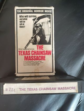 Texas Chainsaw Massacre 1974 Astral Films LTD Canadian VHS (Very rare) 2