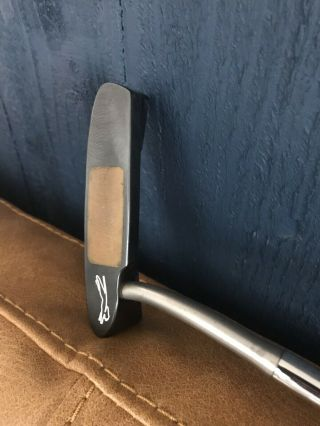 Very Rare And Milled Putter By Slazenger With Soft Copper Milled Face