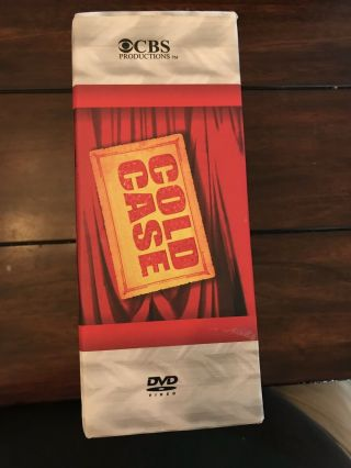 Cold Case Seasons 1 2 3 4 5 6 7 Complete Series VERY RARE 43 Disc Set 1 - 7 4