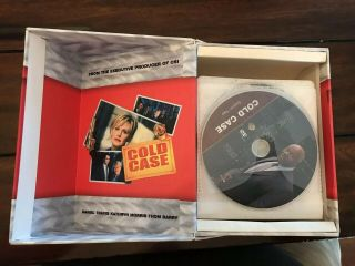 Cold Case Seasons 1 2 3 4 5 6 7 Complete Series VERY RARE 43 Disc Set 1 - 7 5