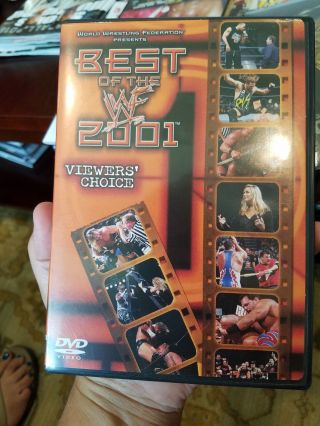 Best Of The Wwf 2001 Dvd Viewer
