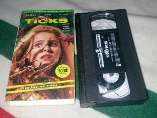 Ticks Vhs Horror Slasher Rare Promo